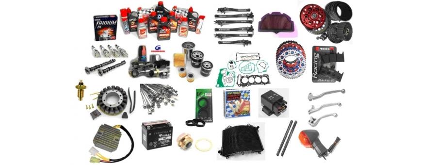 Recambios y piezas para moto. Originales, de calidad y al mejor precio
