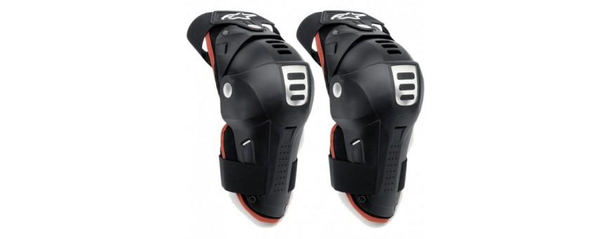 Protecciones para moto y motocross. Tienda online