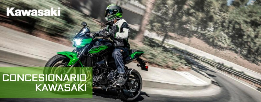 Motorcycle dealer Kawasaki in Pontevedra - Financing As