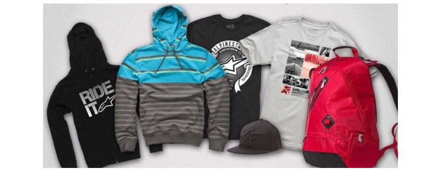 Casual clothing for bikers. Online store