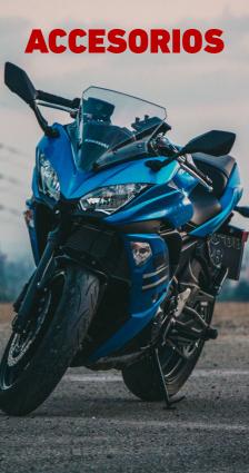 Accesorios para motocicleta